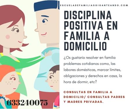 disciplina positiva en familia
